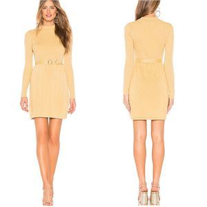 NWT Free people French Girl Belted Sweater Dress